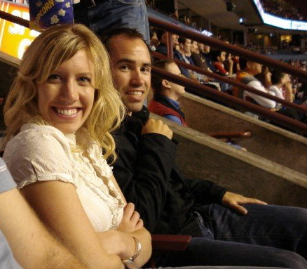 Matt and Linds Hockey