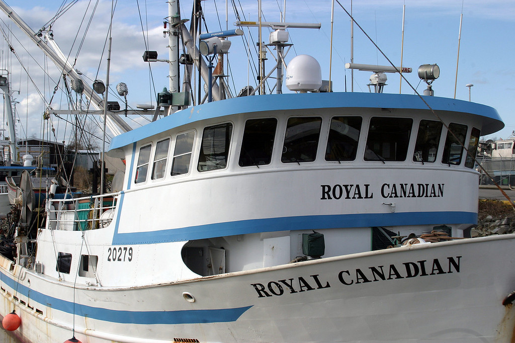 Royal Canadian Fishing Boat