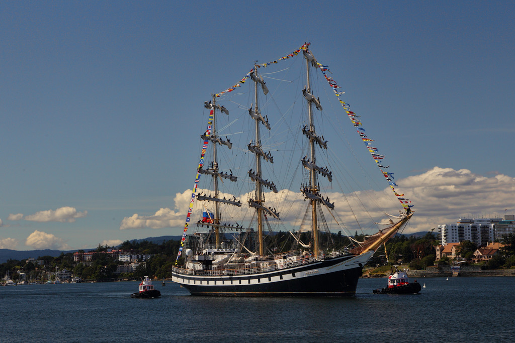 Russian 3 Masted Sailing Ship, the STS Pallada