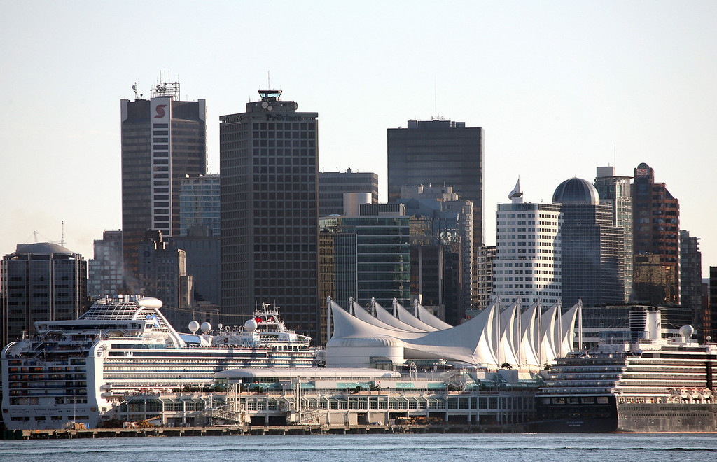 Vancouver Cruise Ship Docks