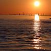 Sunset at Steveston Harbour, BC