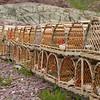 Lobster Pots at Tickle Cove, Newfoundland Canada