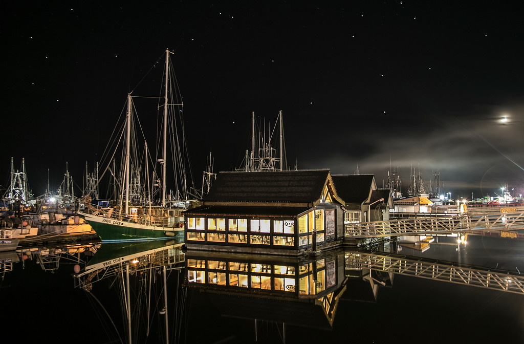 Steveston Harbour, Richmond, BC.