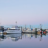 Early morning in the Steveston Harbour, Richmond, BC