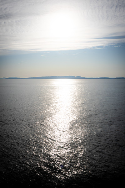 Vancouver Island, Victoria - Channel Islands as seen from the Georgia Strait crossing