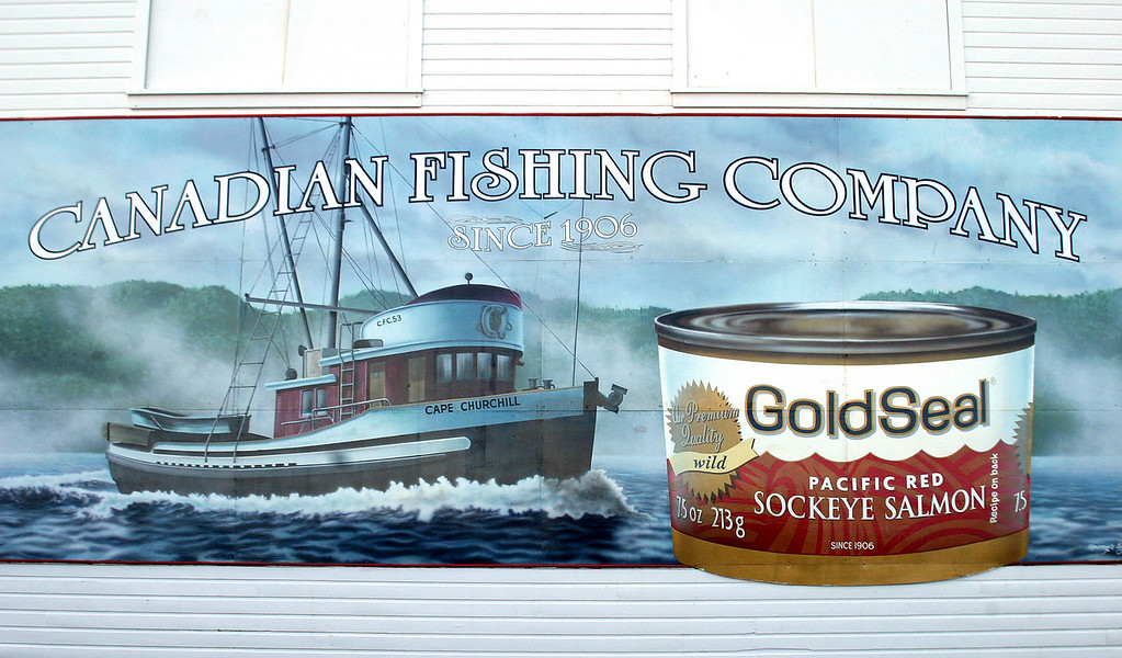 Canadian Fishing Company building, Steveston BC