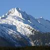 A view of the Coastal Mountains near Horseshoe Bay, BC