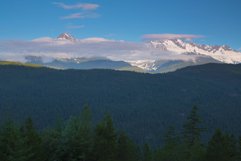 View from Girabaldi Provincial Park