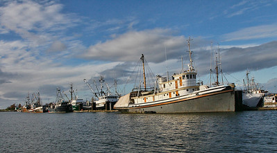A  small portion of the Steveston, BC Fishing fleet