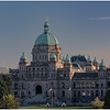 British Columbia Parliament at Sunset