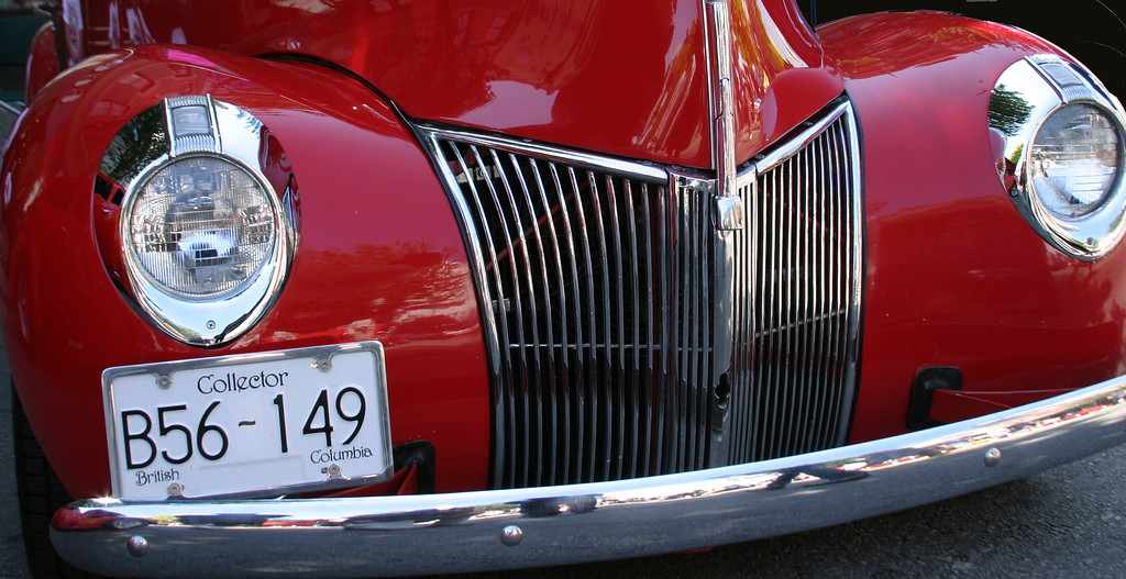 Classic Car from the Classic Car show in Van Deusen Gardens, Vancouver BC