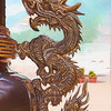 Stylized Dragon from the Lin Yeng Buddist Temple, Richmond, BC