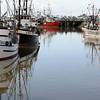Fishing Fleet - Reflections - Steveston Harbour - BC