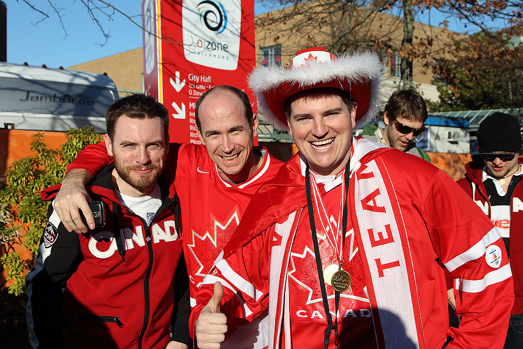 Scenes from the Vancouver 2010 Winter Olympics - Richmond's OZone celebrations