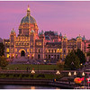 British Columbia Parliament at Twilight