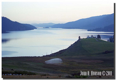 1574_1982006-R4-C1-NCS-BritishColumbia.jpg : Okanagan Lake, looking south, from Highway 97 south of Vernon, BC