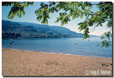1965_BC-1-0362-NCS-BritishColumbia.jpg : Skaha Lake shore line at Penticton, BC