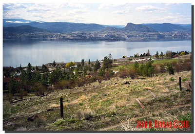 1600_1991001-R4-C2-NCS-BritishColumbia : Overlooking the southern reaches of Naramata, Okanagan Lane and Summerland on the far lake shore.
