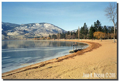 1585_1988001-R2-C3-NCS-BritishColumbia.jpg : Winter, Okanagan Lake, Summerland, BC