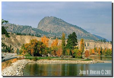 1638_1994048-R1-C2-NCS-BritishColumbia.jpg : Giants Head Mountain and Okanagan Lake, Summerland, BC