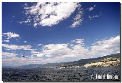1690_2000020-R1-C1-NCS-BritishColumbia.jpg : Okanagan Lake northbound from the lake shore at Penticton, BC