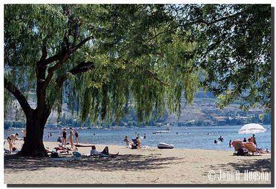 1945_BC-1-0160-NCS-BritishColumbia.jpg : Skaha Lake shore line, Penticton, BC