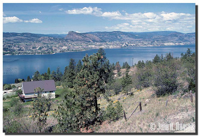1931_BC-1-0108-NCS-BritishColumbia.jpg : Southern reaches of Naramata, Okanagan Lake and Summerland on the far shore, taken from the Kettle Valley rail bed walking trail north of Penticton, BC