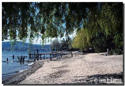 1936_BC-1-0122-NCS-BritishColumbia.jpg : Okanagan Lake shore line, Naramata, BC