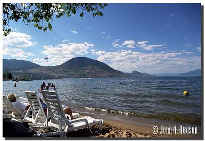 1691_2000020-R1-C4-NCS-BritishColumbia.jpg : Okanagan Lake from the lake shore at Penticton, BC