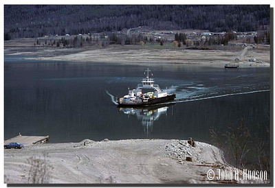 1974_BC-1-0375-NCS-BritishColumbia.jpg : The Needles to Fauquier ferry [Highway 6], Lower Arrow Lake, south east British Columbia.