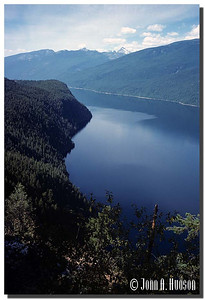 1939_BC-1-0125-NCS-BritishColumbia.jpg : Upper Arrow Lake, looking south from Shelter Bay [Highway 23], south of Revelstoke, British Columbia.