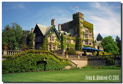 1623_1994007-R1-C3-NCS-BritishColumbia.jpg : Hatley Castle, Royal Roads Military College [now Royal Roads University], Victoria, Vancouver Island, British Columbia.
