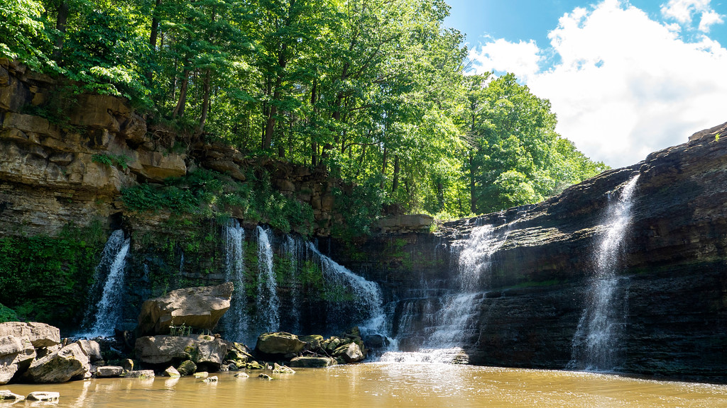 The Upper Falls of Ball's Falls Conservation Area