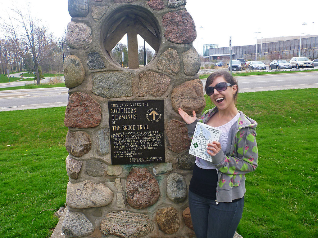 At the Southern Terminus in Queenston Ontario (Niagara)