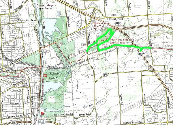 Bruce Trail Hike #3: Niagara Region