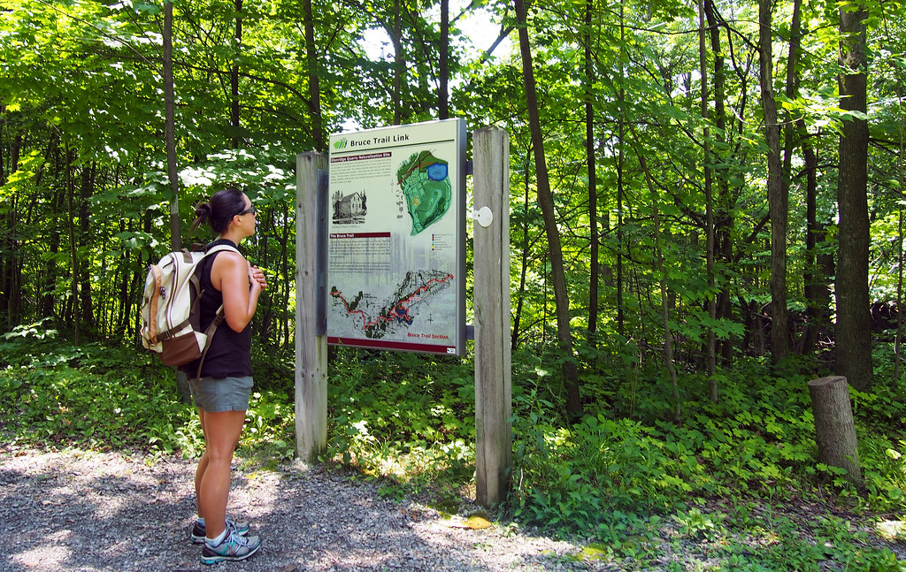 Bruce Trail maps - Bruce Trail App or Bruce Trail Guide - Ontario Hiking
