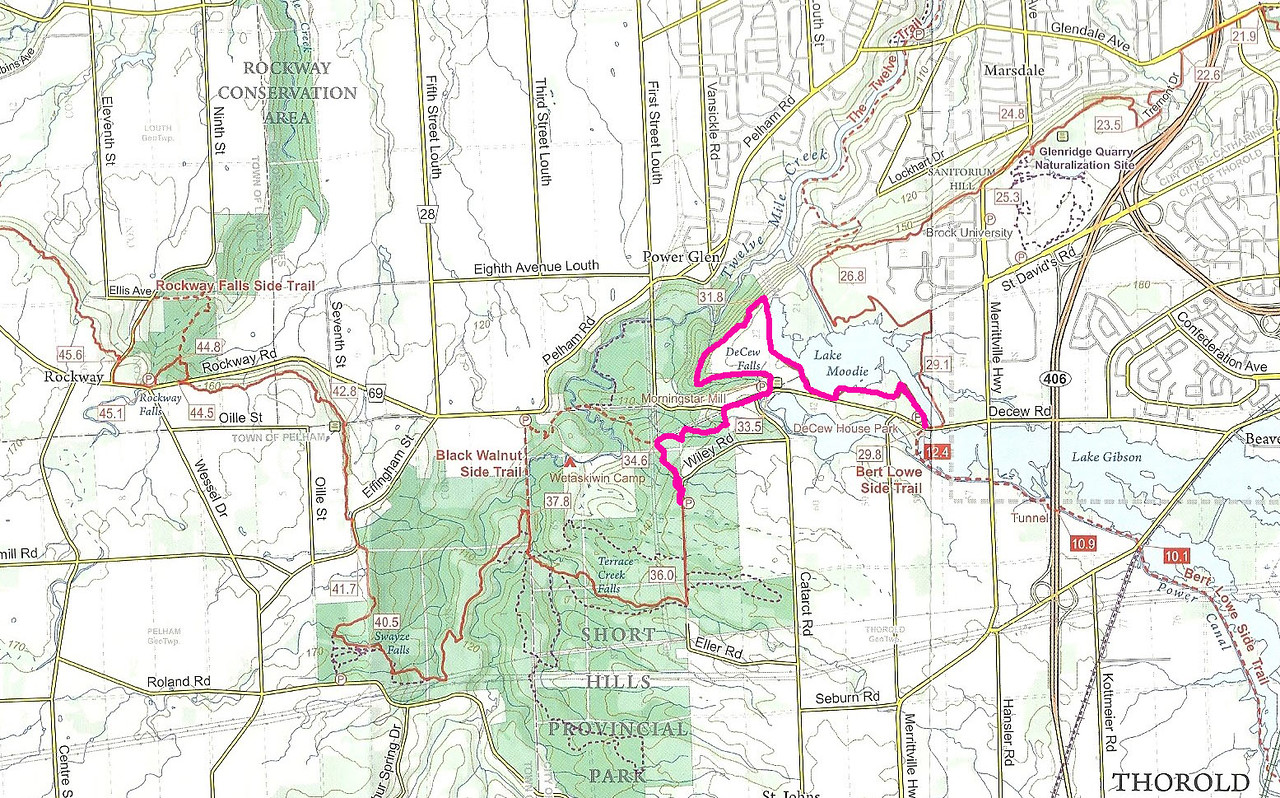 Bruce Trail Hike #6 - Decew Falls