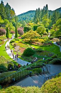 Butchart Gardens-0372