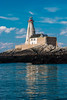 CANADA-NEW BRUNSWICK-GANNET ROCK-GANNET ROCK LIGHTHOUSE