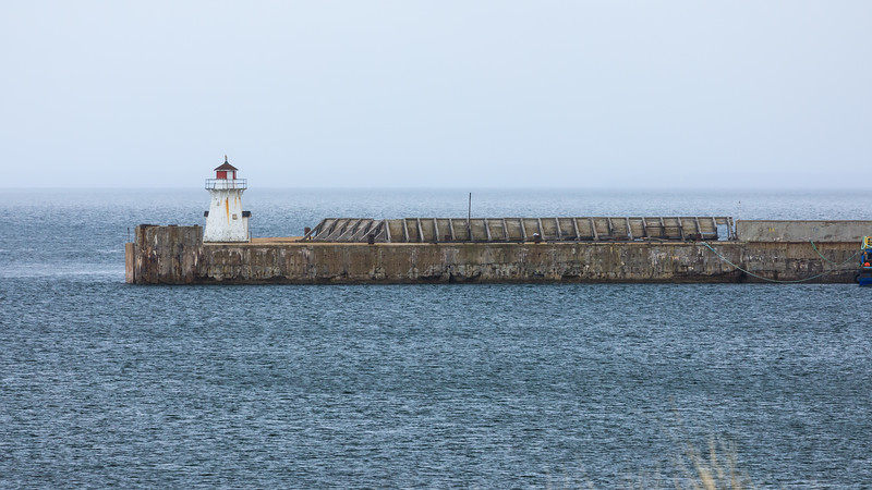 CANADA-PRINCE EDWARD ISLAND-Port Borden-Port Borden Pier Lighthouse