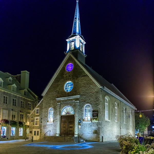 Canada-Quebec-Quebec City-Notre-Dame-des Victories
