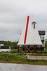 CANADA-NEW BRUNSWICK-Shediac-Pointe du Chene Range Rear Lighthouse
