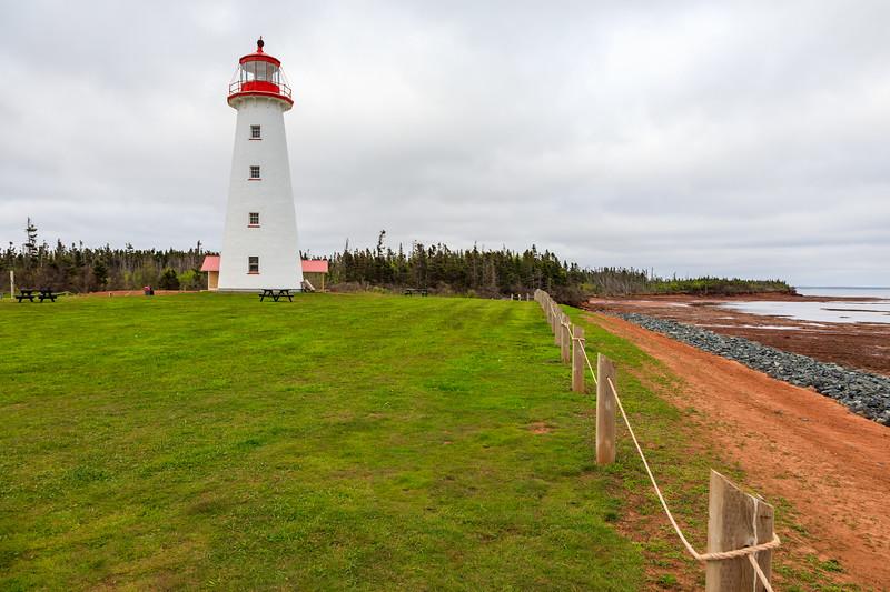 CANADA-PRINCE EDWARD ISLAND-Point Prim-Point Prim Lighthouse