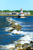 CANADA-PRINCE EDWARD ISLAND-Lower Bedeque-Indian Head Lighthouse