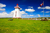 CANADA-PRINCE EDWARD ISLAND-Souris-Souris East Lighthouse
