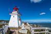 CANADA-NEW BRUNSWICK-CAPE ENRAGE-CAPE ENRAGE LIGHT
