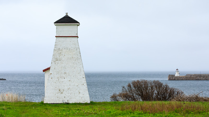 CANADA-PRINCE EDWARD ISLAND-Port Borden-Port Borden Range Front Lighthouse and Pier Lighthouse