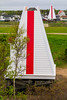 CANADA-NEW BRUNSWICK-Shediac-Pointe du Chene Front and Rear Range Lighthouse