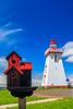 CANADA-PRINCE EDWARD ISLAND-Souris-Souris East Lighthouse