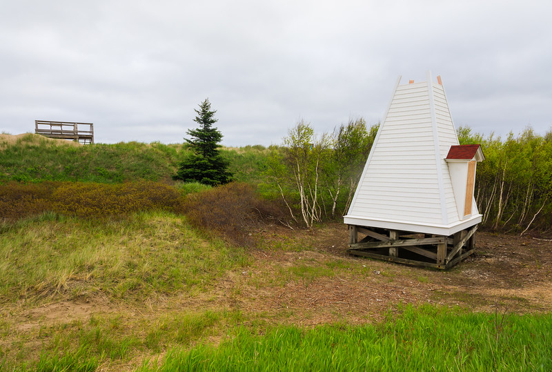 CANADA-NEW BRUNSWICK-Shediac-Pointe du Chene Range Front Lighthouse